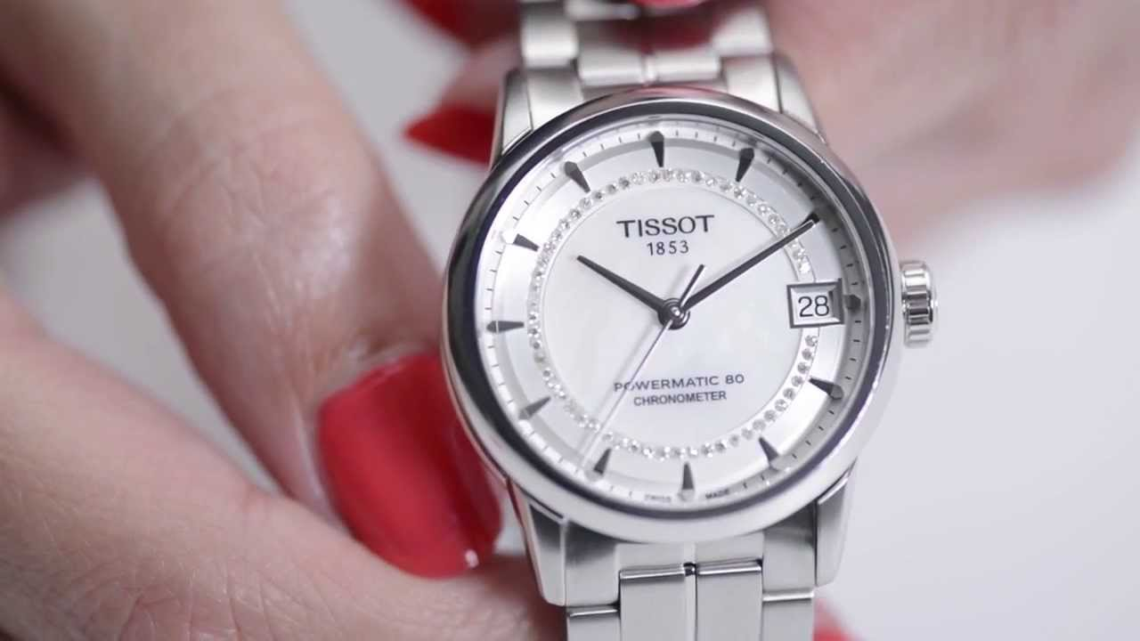 montre tissot femme automatique  Tissot Luxury