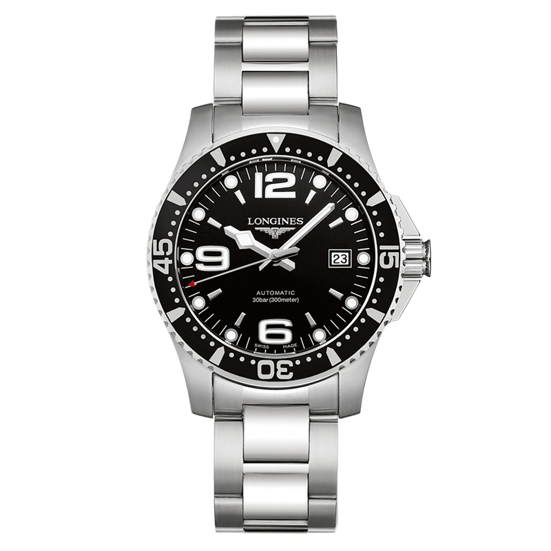 montre automatique bracelet acie  Longines HydroConquest