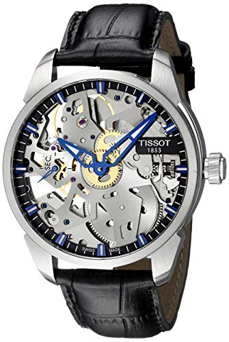 montre automatique homme squelette Swiss Mechanical Stainless Steel