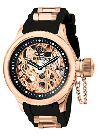 Montre automatique homme squelette Invicta Men's 1090 Russian