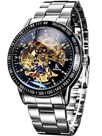 Horloge très décorative, profondeur du mécanisme et effet optique bleuté du  cadran. Pas encore en mesure de tester si l autonomie de l automatisation  est ... d1ae52600b7e